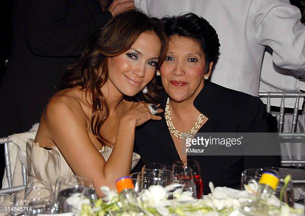 Jennifer Lopez and Guadalupe Lopez during The 10th Annual ACE Awards Inside at Cipriani in New York City New York United States