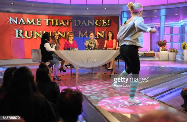 THE VIEW Jennifer Lopez and Jennifer Beals are guests Friday March 3 2017 on Walt Disney Television via Getty Images's The View The View airs...