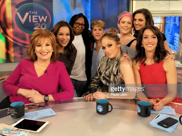 THE VIEW Jennifer Lopez and Jennifer Beals are guests Friday March 3 2017 on ABC's 'The View' 'The View' airs MondayFriday on the ABC Television...