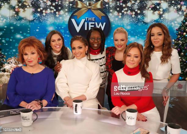 THE VIEW Jennifer Lopez and Leah Remini are the guests today Wednesday 12/12/18 on ABC's 'The View' 'The View' airs MondayFriday on the ABC...