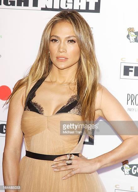 Jennifer Lopez arrives at Celebrity Fight Night XIX held at JW Marriott Desert Ridge Resort Spa on March 23 2013 in Phoenix Arizona