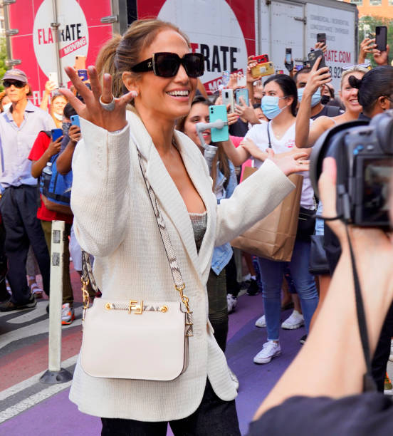 NY: Celebrity Sightings In New York City - September 12, 2021
