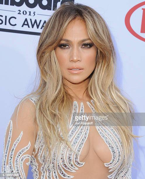 Jennifer Lopez arrives at the 2015 Billboard Music Awards at MGM Garden Arena on May 17 2015 in Las Vegas Nevada