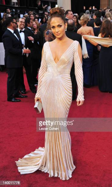 Jennifer Lopez arrives at the 84th Annual Academy Awards held at the Hollywood Highland Center on February 26 2012 in Hollywood California