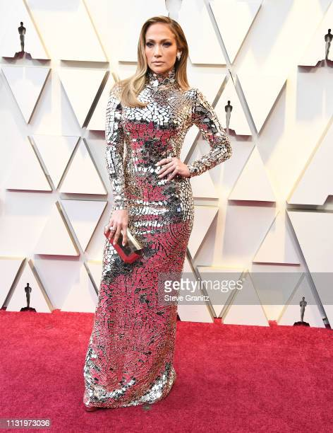 Jennifer Lopez arrives at the 91st Annual Academy Awards at Hollywood and Highland on February 24 2019 in Hollywood California