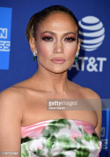 Jennifer Lopez arrives at the Annual Palm Springs International Film Festival Film Awards Gala on January 02, 2020 in Palm Springs, California.