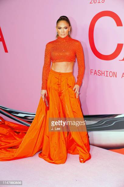 Jennifer Lopez arrives at the CFDA Fashion Awards on June 3 2019 in New York City