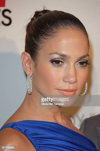 Jennifer Lopez arrives at the ESPN Deportes and Viceroy Miami Party to welcome the Latino owners of the Miami Dolphins event at Club 50 at Viceroy...