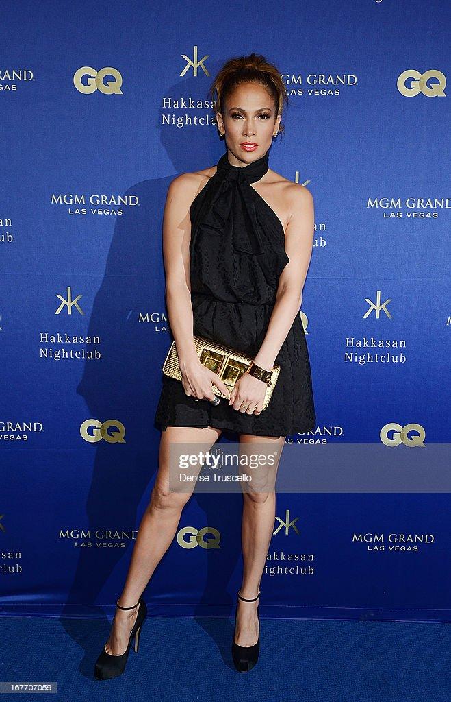 Jennifer Lopez arrives at the grand opening of Hakkasan Nightclub at the MGM Grand on April 27, 2013 in Las Vegas, Nevada.Ê