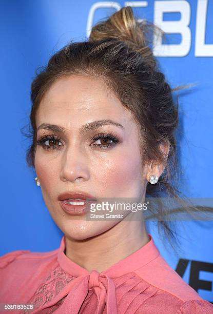 Jennifer Lopez arrives at the Television Academy Event For NBC's Shades Of Blue at Saban Media Center on June 9 2016 in North Hollywood California