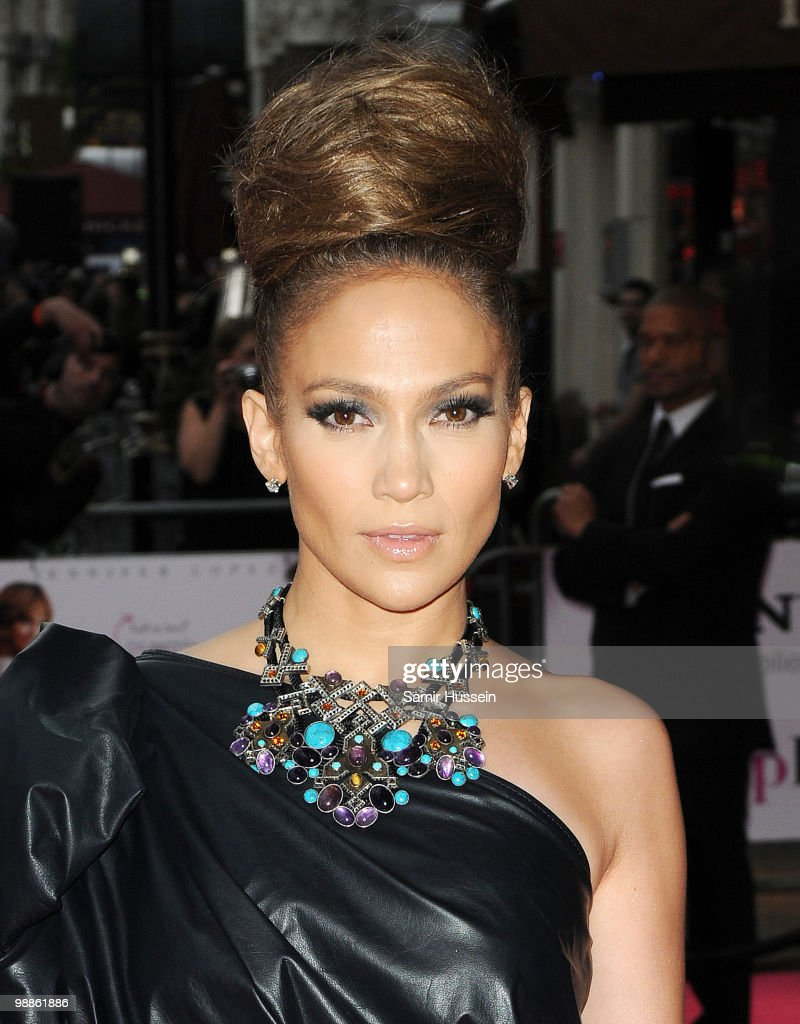 Jennifer Lopez arrives for the The Back-Up Plan UK Premiere at Vue Leicester Square on April 28, 2010 in London, England.