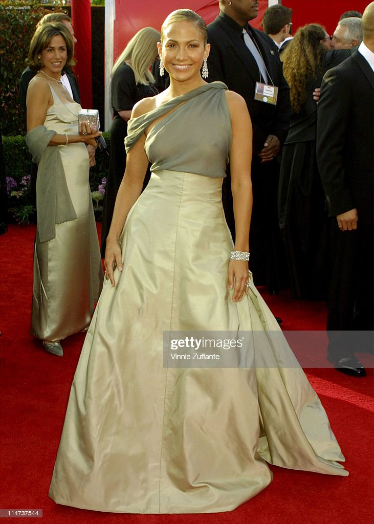 Jennifer Lopez arriving for th...