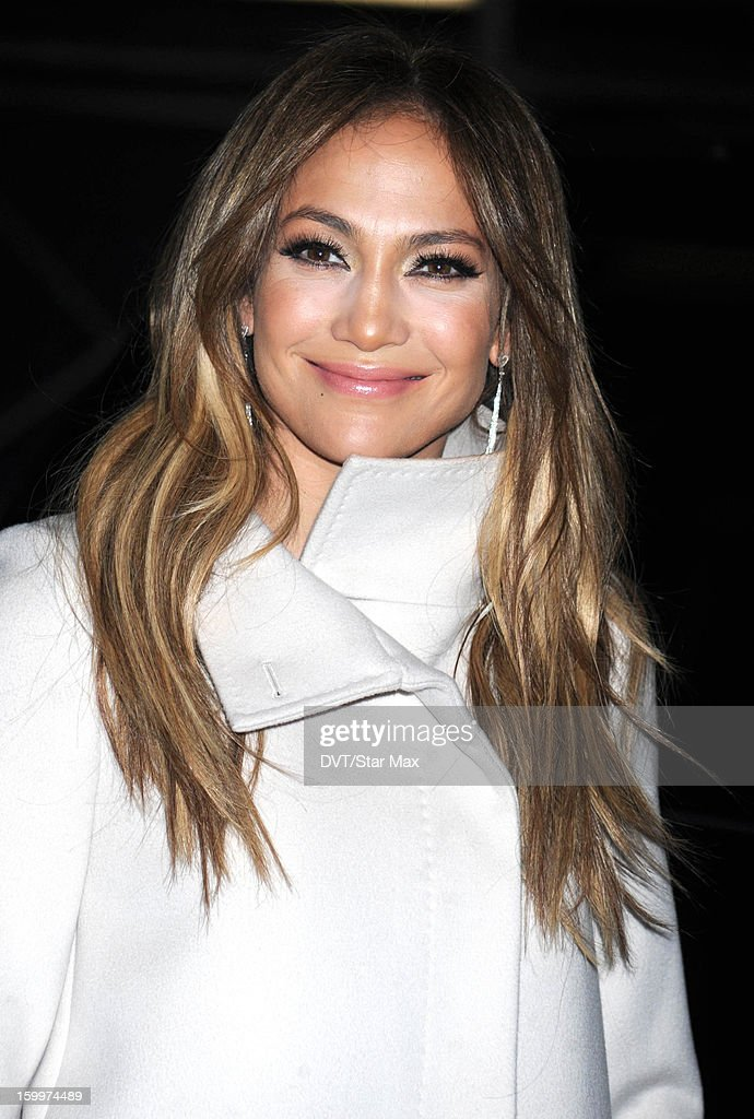 Jennifer Lopez as seen on January 23, 2013 in New York City.