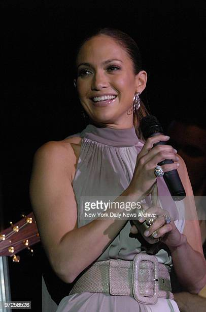 Jennifer Lopez at the Children's Health Fund's 20th Anniversary held at the Hilton hotel