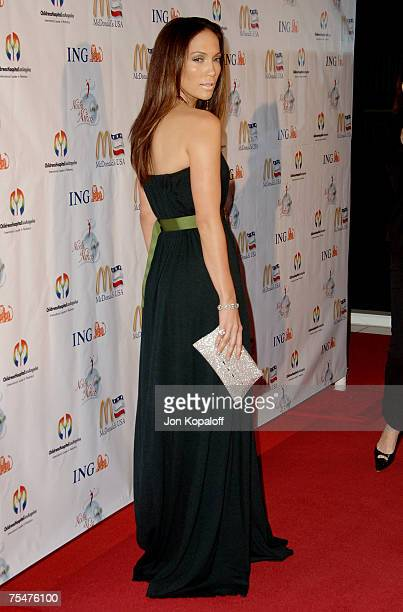 Jennifer Lopez at the Childrens Hospital Los Angeles 2nd Noche de Ninos Gala Honoring Johnny Depp Arrivals at Beverly Hilton Hotel in Beverly Hills...