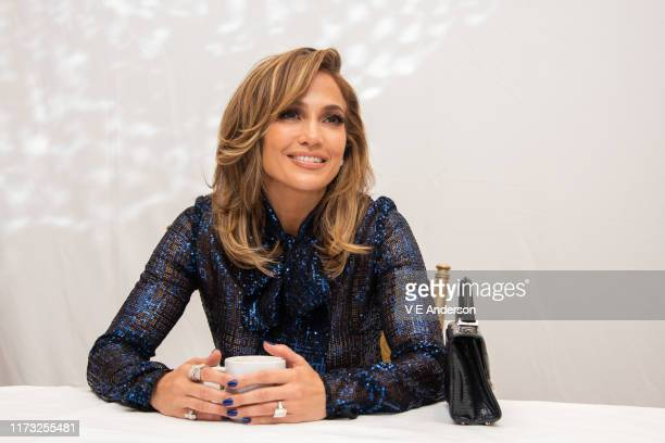 "Jennifer Lopez at the ""Hustlers"" Press Conference at the Fairmont Royal York on September 07, 2019 in Toronto, Canada."