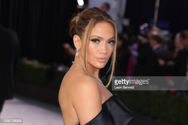 Jennifer Lopez attends 26th Annual Screen Actors Guild Awards at The Shrine Auditorium on January 19 2020 in Los Angeles California