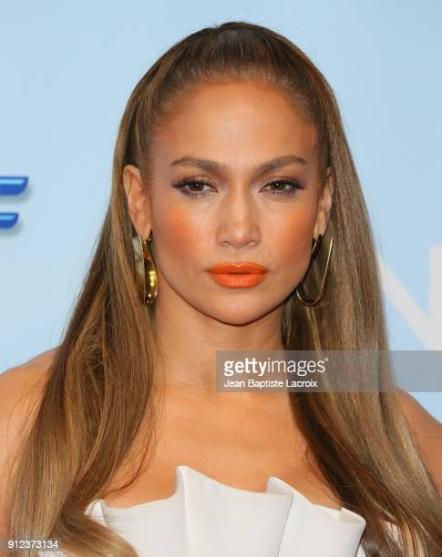Jennifer Lopez attends a photo op for NBC's 'World Of Dance' on January 30 2018 in Burbank California