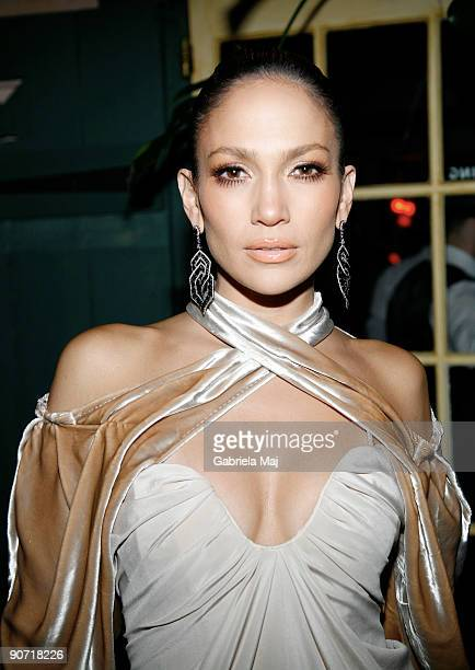 Jennifer Lopez attends a post VMA dinner at The Waverly Inn on September 13 2009 in New York City