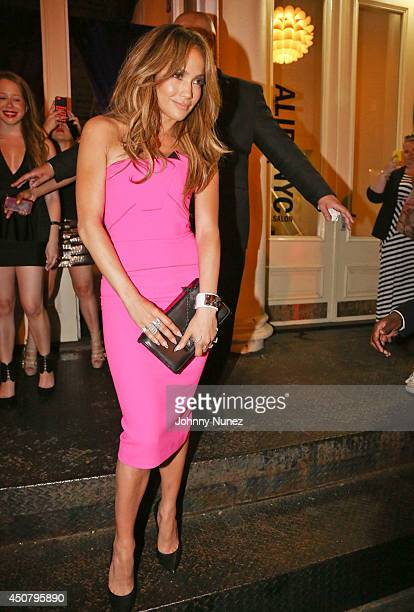 Jennifer Lopez attends Beats Music Present Sip And Stream With Jennifer Lopez at Beats By Dr Dre Store on June 17 2014 in New York City