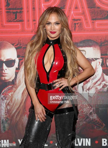 Jennifer Lopez attends Calibash Los Angeles 2018 at Staples Center on January 20 2018 in Los Angeles California