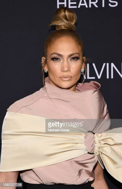 Jennifer Lopez attends ELLE's 25th Annual Women In Hollywood Celebration presented by L'Oreal Paris Hearts On Fire and CALVIN KLEIN at Four Seasons...