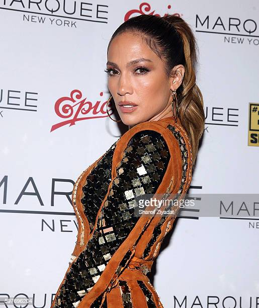Jennifer Lopez attends Epic Summer Hosted By DJ Khaledat Marquee on August 28 2016 in New York City