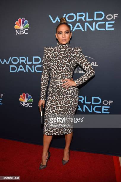 Jennifer Lopez attends FYC Event For NBC's World Of Dance at Saban Media Center on May 1 2018 in North Hollywood California