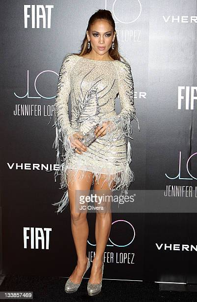 Jennifer Lopez attends Jennifer Lopez's 2011 American Music Awards PostParty held at the Greystone Manor Supperclub on November 20 2011 in Los...