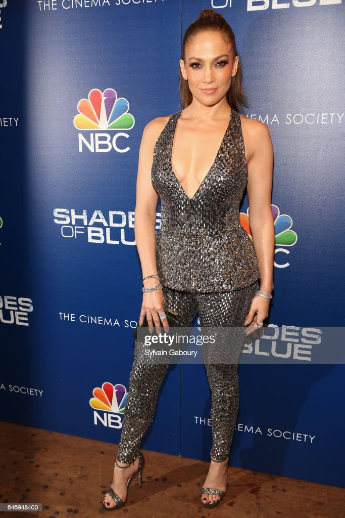 """NBC and The Cinema Society Host the Season 2 Premiere of """"Shades of Blue"""" : News Photo"""