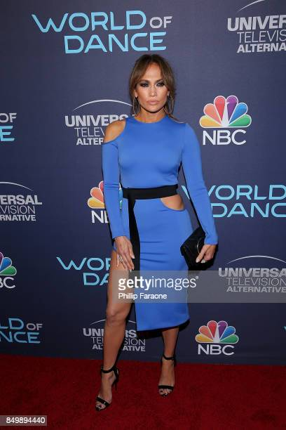 "Jennifer Lopez attends NBC's ""World of Dance"" celebration at Delilah on September 19, 2017 in West Hollywood, California."