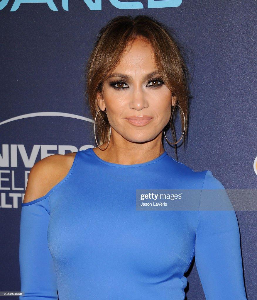 Jennifer Lopez attends NBC's 'World of Dance' celebration at Delilah on September 19, 2017 in West Hollywood, California.
