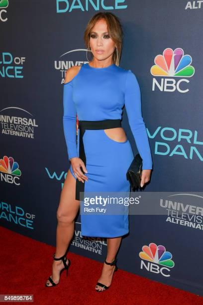 Jennifer Lopez attends NBC's World Of Dance Celebration at Delilah on September 19 2017 in West Hollywood California