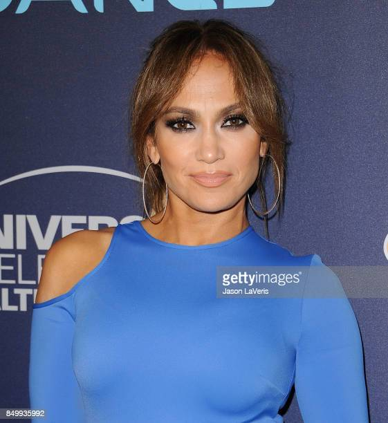 Jennifer Lopez attends NBC's World of Dance celebration at Delilah on September 19 2017 in West Hollywood California
