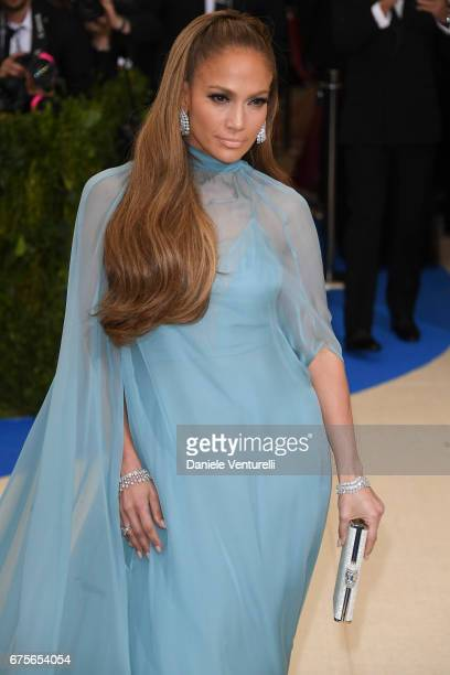 Jennifer Lopez attends 'Rei Kawakubo/Comme des Garcons Art Of The InBetween' Costume Institute Gala Arrivals at Metropolitan Museum of Art on May 1...