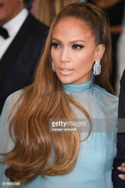 Jennifer Lopez attends Rei Kawakubo/Comme des Garcons Art Of The InBetween Costume Institute Gala Arrivals at Metropolitan Museum of Art on May 1...