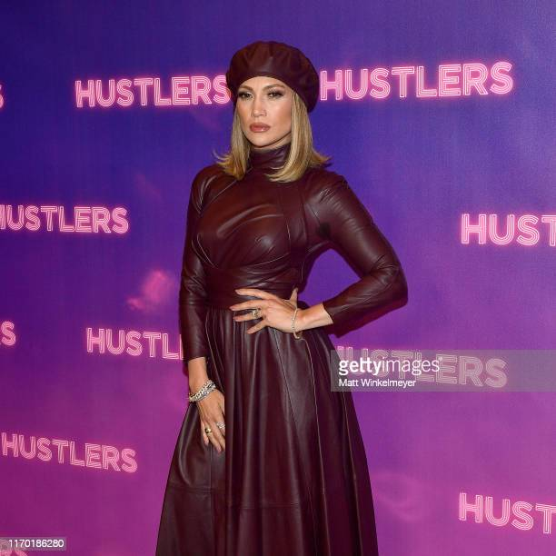 Jennifer Lopez attends STX Entertainment's Hustlers Photo Call at Four Seasons Los Angeles at Beverly Hills on August 25 2019 in Los Angeles...