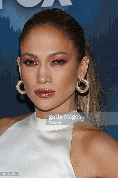 Jennifer Lopez attends the 2015 Fox AllStar Party at Langham Hotel on January 17 2015 in Pasadena California