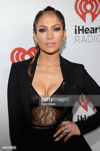 Jennifer Lopez attends the 2015 iHeartRadio Music Festival at MGM Grand Garden Arena on September 19 2015 in Las Vegas Nevada