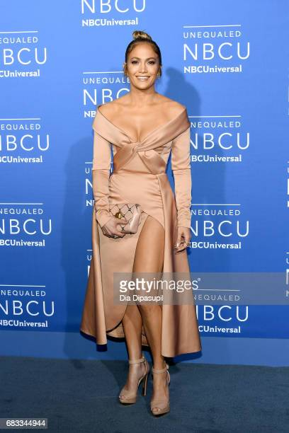 Jennifer Lopez attends the 2017 NBCUniversal Upfront at Radio City Music Hall on May 15 2017 in New York City