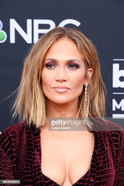 Jennifer Lopez attends the 2018 Billboard Music Awards at MGM Grand Garden Arena on May 20 2018 in Las Vegas Nevada