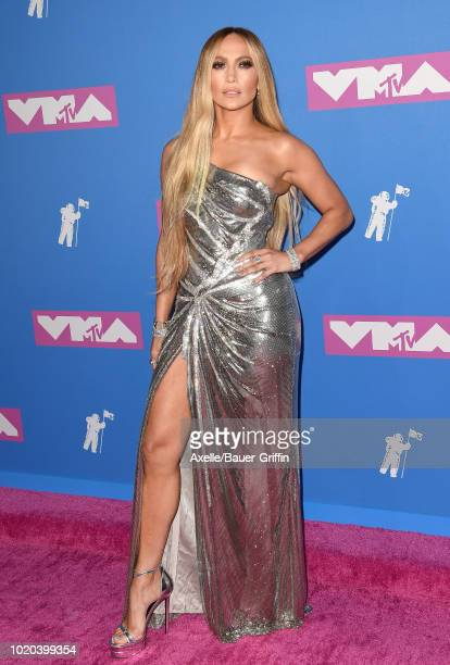 Jennifer Lopez attends the 2018 MTV Video Music Awards at Radio City Music Hall on August 20 2018 in New York City