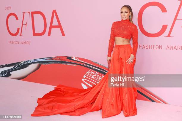 Jennifer Lopez attends the 2019 CFDA Awards at The Brooklyn Museum on June 3 2019 in New York City