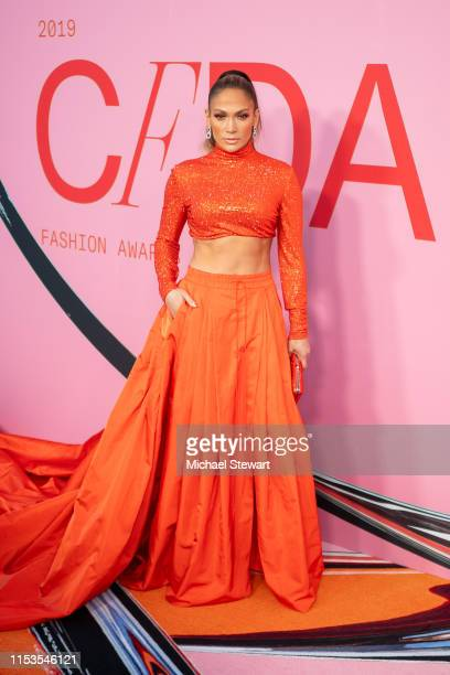 Jennifer Lopez attends the 2019 CFDA Fashion Awards at the Brooklyn Museum of Art on June 03, 2019 in New York City.