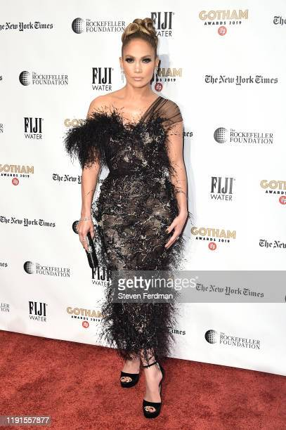 Jennifer Lopez attends the 2019 IFP Gotham Awards at Cipriani Wall Street on December 02 2019 in New York City