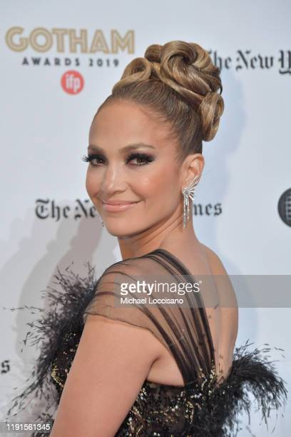 Jennifer Lopez attends the 2019 IFP Gotham Awards at Cipriani Wall Street on December 02, 2019 in New York City.
