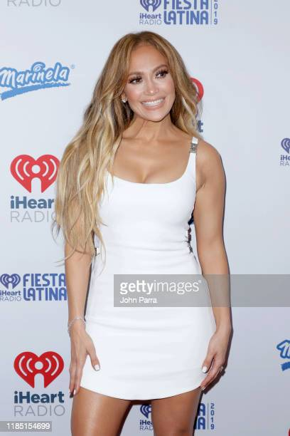 Jennifer Lopez attends the 2019 iHeartRadio Fiesta Latina at AmericanAirlines Arena on November 02 2019 in Miami Florida