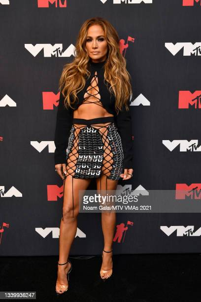 Jennifer Lopez attends the 2021 MTV Video Music Awards at Barclays Center on September 12, 2021 in the Brooklyn borough of New York City.