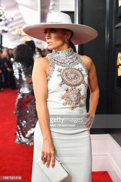 Jennifer Lopez attends the 61st Annual GRAMMY Awards at Staples Center on February 10 2019 in Los Angeles California