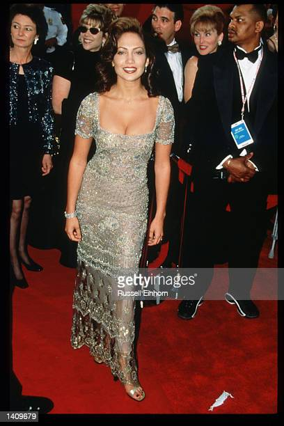 Jennifer Lopez attends the 69th Annual Academy Awards ceremony March 24 1997 in Los Angeles CA